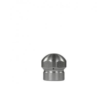 Форсунка каналопромывочная, вход 1/8 внут, 3 отверстия, с боем назад