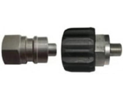 Муфта-байонет 600bar, 1/4 внеш, нерж.сталь, R+M 200045600