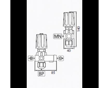 Регулятор высокого давления ST-261, R+M 200261500