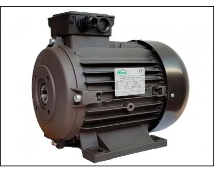 Электродвигатель 6,2 кВт, 380 В, 1450 об/мин. (полый вал, фланец 87 мм), Ravel 11095A