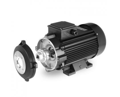 Электродвигатель 15 кВт, 380 В, 1450 об/мин. (полый вал с муфтой, фланец 87 мм ), EME H63A2078X71E0