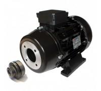 Электродвигатель 6,3 кВт, 380 В, 1450 об/мин. (полый вал с муфтой, фланец 87 мм ), Nicolini T41126/2NR1A3MG