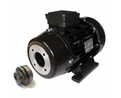 Электродвигатель 22 кВт, 380 В, 1450 об/мин. (полый вал с муфтой, фланец 87 мм ), Nicolini T416122/NRLG5MG