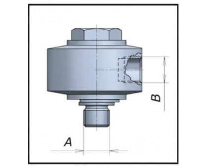 Муфта поворотная угловая 90° для консоли , Mecline