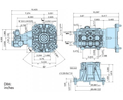Насос высокого давления Evolution  E3E2815, IPG E3E2815-000