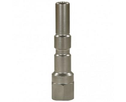 Ниппель KW 250 bar (длинный) 1/4 внут, нерж.сталь, R+M 40001255