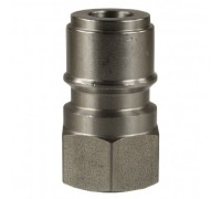 Ниппель ARS 250 bar (короткий) 1/4 внут, нерж. сталь, R+M 40005482