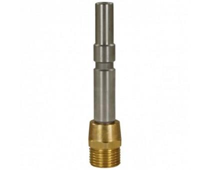 Ниппель KW 250 bar (длинный) с гайкой M22*1.5 внеш. для профессионального KARCHER, нерж. сталь-латунь, R+M 559103