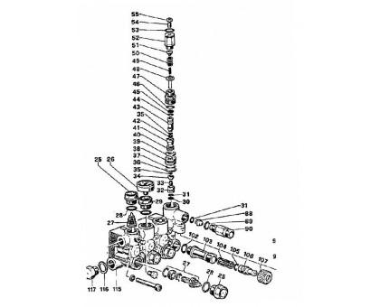 Пружина D 7.6 х 29 мм байпаса (малая), IPG 94734500 (28477MLML)