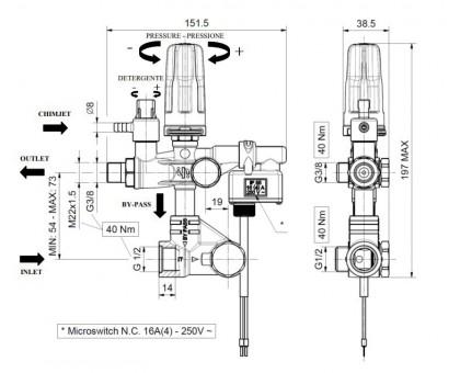Регулятор высокого давления SETMATIC Total Stop , IPG 02 (ZKSMSGSC-000)