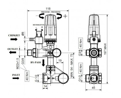 Регулятор высокого давления SETMATIC by-pass , IPG 01 (ZKHSETMSC-000)