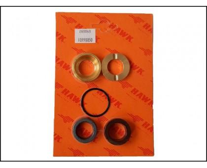 Комплект уплотнений с латунью  на 1 поршень для серии HD, d.18 мм, Hawk 1.099-885.0/260043