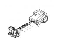 Комплект уплотнений с латунью для cерии NMT HT, Hawk 1.905-580.0