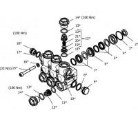 Клапанный блок в сборе для серии NPM, Hawk 1.099-757.0/260075