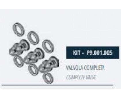 Комплект клапанов насоса для серии MM, Mazzoni P9.001.005