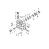 Головная часть насоса в сборе (латунь) для серии RG, Annovi Reverberi 43024