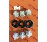Комплект клапанов насоса для серии NMT, NPM, Hawk 1.905-543.0/260008