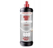 Высокоабразивная одношаговая полировальная паста MENZERNA Heavy Cut Compound 400 (FG400), 1 кг
