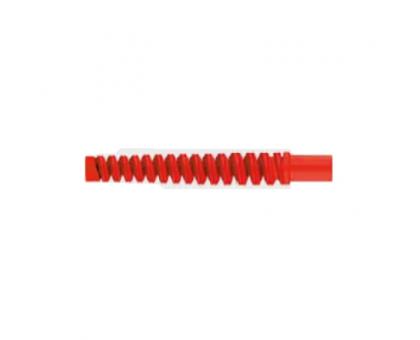 Защита от перегиба из пластика, красная, R+M 308552