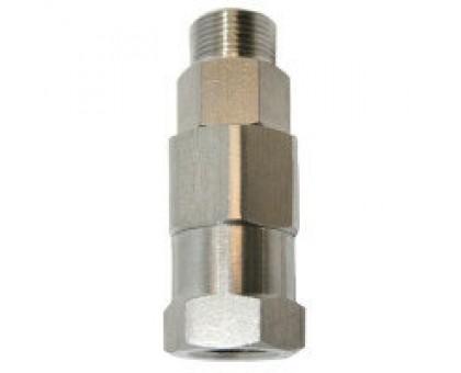 Муфта поворотная для консоли (прямая), нержавеющая сталь