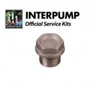 Нижняя заглушка клапана (большая) М24 х 1,5 х 16,7 (никелированная латунь), IPG 98222500