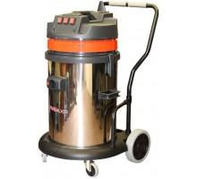 Пылесос сухой и влажной уборки SOTECO PANDA 440M GA XP INOX (на тележке)