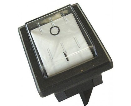 Кнопка выключателя влагозащищенная (белая)
